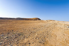 Negev Desert in Israel Royalty Free Stock Photo
