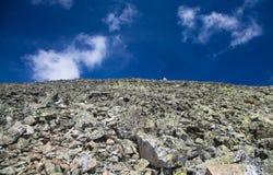 Rocky hillside Royalty Free Stock Photography