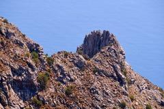 Rocky hillside Stock Images