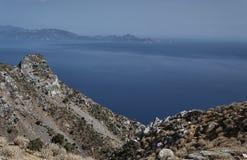 Rocky hillside on the island of Kos Royalty Free Stock Image