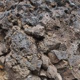 Rocky hillside texture Royalty Free Stock Photos