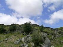 Rocky hillside Stock Image