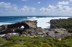 Rocky Inlets: Cape Vlamingh Stock Photos