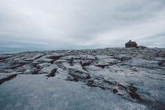 Rocky Irish Coast, Doolin Royalty-vrije Stock Foto's