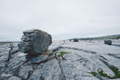 Rocky Irish Coast, Doolin. Rocky coast in western Ireland Royalty Free Stock Photo