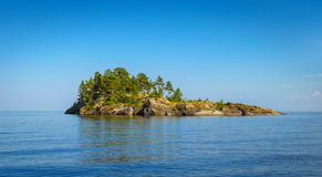 Rocky island Royalty Free Stock Images