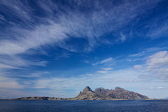 Rocky island in Norway Stock Photo
