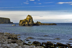 Rocky Island and Sheep Island the Antrim Coast Royalty Free Stock Photos