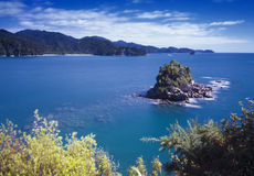 Rocky Islet - The Anchorage, Abel Tasman National Park Royalty Free Stock Image