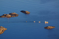 Rocky islets Royalty Free Stock Images