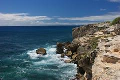 Rocky Kauai Coastline Imagen de archivo libre de regalías