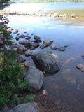 Rocky Lake Stock Foto's