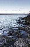 Rocky lakefront Royalty Free Stock Photography