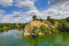 Rocky lakeside Royalty Free Stock Image