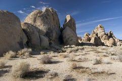 Rocky Landscape. Of the Alabama Hills near Lone Pine, California Stock Image