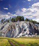 Rocky landscape Royalty Free Stock Image