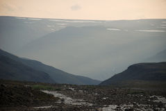 A rocky landscape Royalty Free Stock Photos