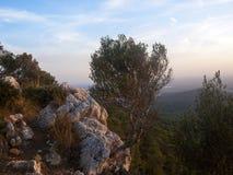Rocky Landscape Royaltyfri Foto