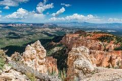 Rocky Landscape bei Bryce Canyon Stockfotos