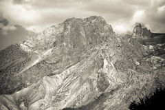 Rocky landscape in the Fan Mountains. Pamir. Tajikistan, Central Royalty Free Stock Photos