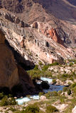 Rocky landscape in the Fan Mountains. Pamir. Tajikistan, Central Stock Images