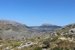 Rocky landscape in Majorca Stock Photos