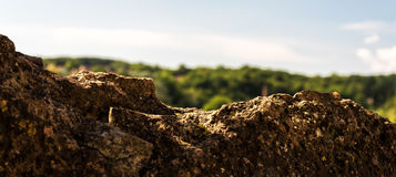 Rocky landscape. In the middle of Frence Stock Images