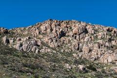 Rocky Landscape sulla montagna di Fortuna fotografia stock libera da diritti