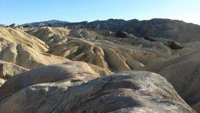 Rocky landscape on sunny day Stock Photos