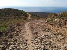 Rocky landscape of Tenerife Royalty Free Stock Photo