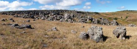 Rocky Landscape, Zuid-Afrika Royalty-vrije Stock Foto's