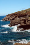 Rocky Makapu'u Beach Hawaii Stock Photos