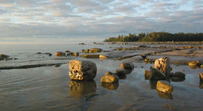 Rocky Manitoulin Bay Royalty Free Stock Photography