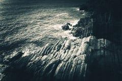 Rocky Mediterranean Shore Stock Photos