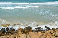 rocky morza Zdjęcia Royalty Free