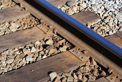 Rocky Mount-Bahngleise Stockbilder