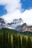 Rocky mountain. Banff National Park. Alberta. Canada, Oct. 2011, close to Moraine Lake Stock Photo