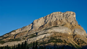 Rocky Mountain. Photo of a Rocky Mountain in a the Rocky mountains in Canada Royalty Free Stock Photos
