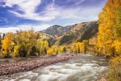 Rocky Mountain Autumn Royalty Free Stock Photos
