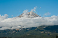 Rocky Mountain, Banff National Park Royalty Free Stock Photography