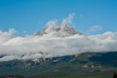 Rocky Mountain Banff nationalpark Royaltyfri Fotografi