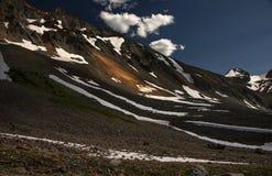 Rocky Mountain Beauty, roccia alpina, tellururo, Colorado Immagini Stock Libere da Diritti