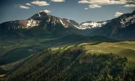 Rocky Mountain Beauty, Wilson Peak, Telluride, Colorado Stock Photos