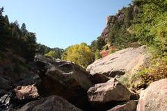Rocky Mountain Canyon Royalty Free Stock Photos