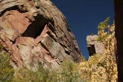 Rocky Mountain Canyon Royalty Free Stock Photography