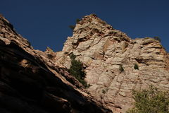 Rocky Mountain Canyon Royalty Free Stock Images