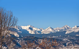 Rocky Mountain Continental Divide Stock Image