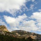 Rocky mountain in Crimea Stock Photo