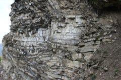 Rocky Mountain Decals. On Bucegi Mountains Romania stock photography