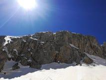 Rocky mountain Durmitor stock image